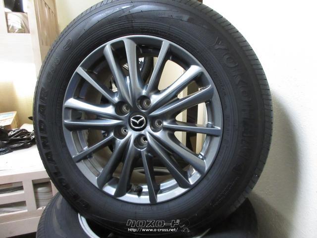 ホイール・タイヤ CX-5純正17インチアルミタイヤセット