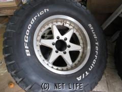 ホイール・タイヤ 78プラド外し17インチアルミタイヤセット