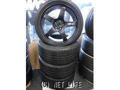ホイール・タイヤ 18インチ SSR GTF01(鍛造)・ポテンザRE050 4本セット