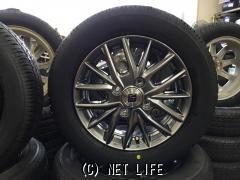 ホイール・タイヤ 13インチ 新品ザインSX(ダークメタルシルバー)新品タイヤ4本セット!