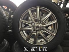 ホイール・タイヤ 13インチ 新品ザインSS(メタルフレークシルバー)新品タイヤ4本セット!