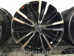 ホイール・タイヤ 16インチ 新品スマッククレスト(ブラックポリッシュ)新品タイヤ4本セット!