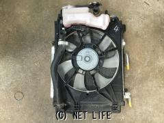 冷却系 ダイハツキャストラジエーターコンデンサーファンモーター