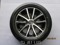 ホイール・タイヤ 14インチ(ブラックポリッシュ・4本・特価)