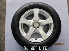 ホイール・タイヤ 15インチ(シルバー5本スポーク・4本・特価)