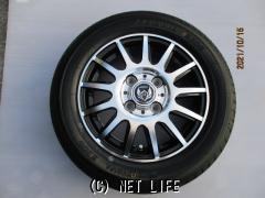 ホイール・タイヤ 13インチ(ブラックポリッシュ・スポーク・4本・特価)