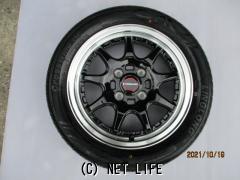 ホイール・タイヤ 14インチ(ブラックポリッシュスポーク・4本・特価)